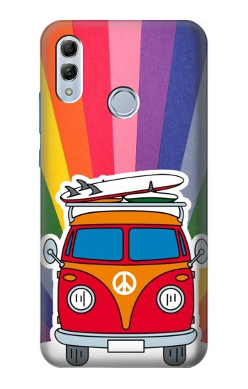 Printed Hippie Van Huawei Honor 10 Lite Case