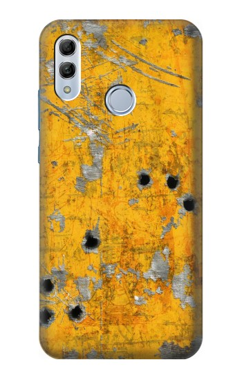 Printed Bullet Rusting Yellow Metal Huawei Honor 10 Lite Case