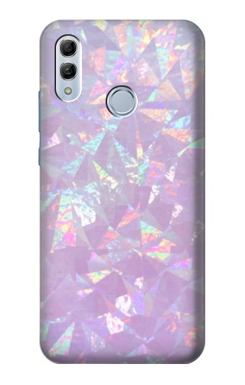 Printed Iridescent Holographic Photo Printed Huawei Honor 10 Lite Case