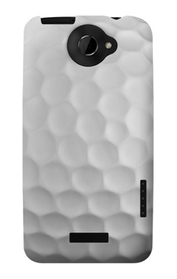 Printed Golf Ball HTC One X Case