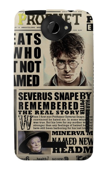 Printed Harry Potter Daily Prophet HTC One X Case