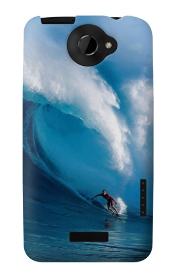 Printed Hawaii Surf HTC One X Case