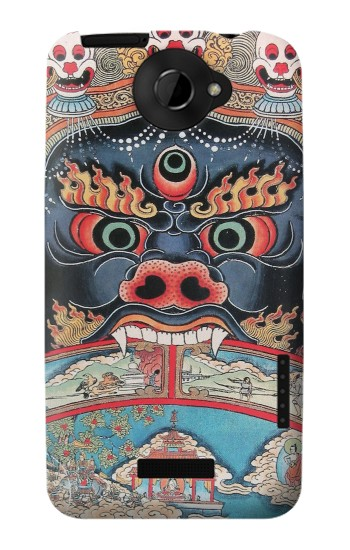 Printed Tibet Art HTC One X Case