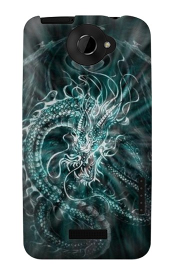 Printed Digital Chinese Dragon HTC One X Case