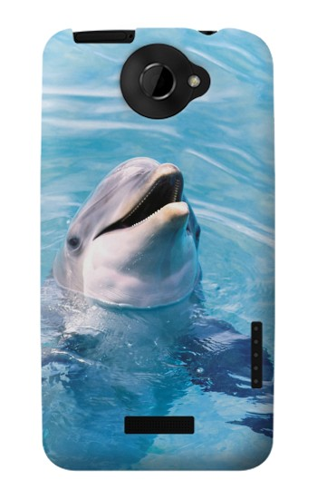 Printed Dolphin HTC One X Case