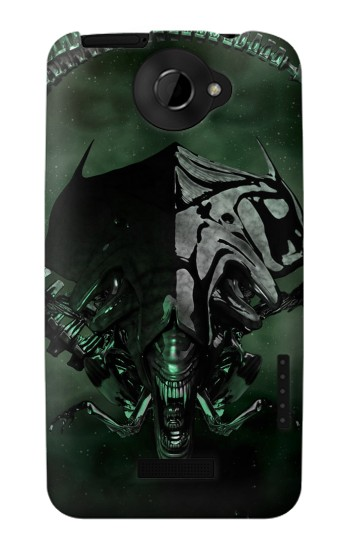 Printed Alien Queen HTC One X Case