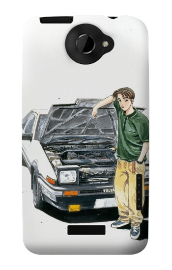 Printed Initial D Takumi HTC One X Case