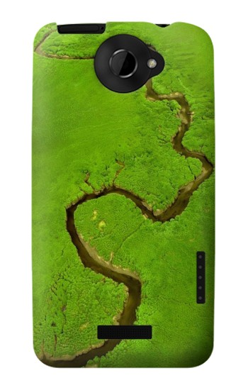 Printed Amazon River HTC One X Case