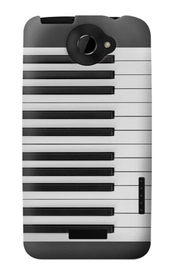 Printed One Octave Piano HTC One X Case