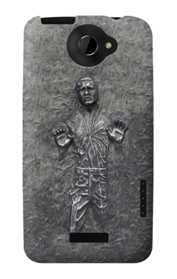 Printed Han Solo in Carbonite HTC One X Case