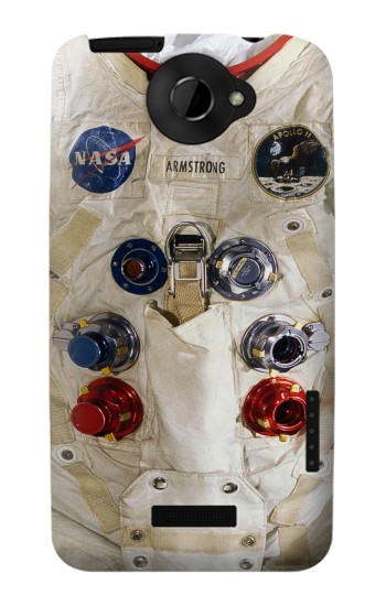Printed Neil Armstrong White Astronaut Spacesuit HTC One X Case
