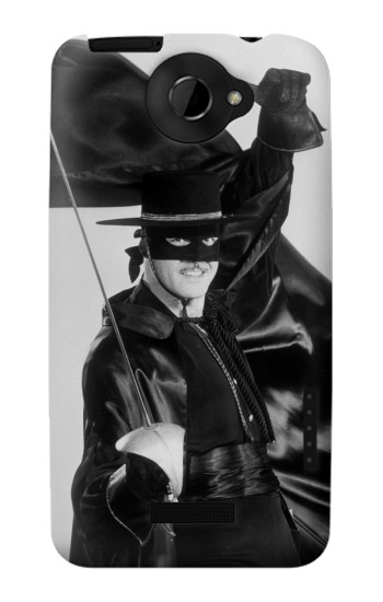 Printed The Mark Of Zorro HTC One X Case