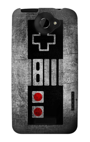 Printed Game Pad Controller Minimalism HTC One X Case