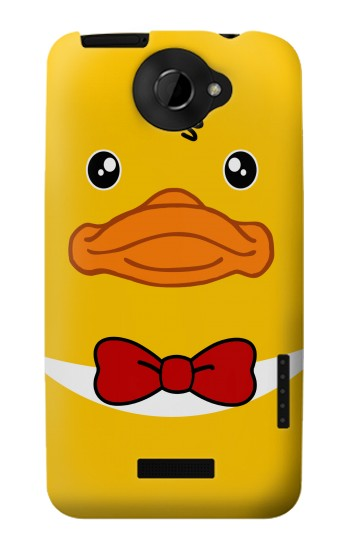 Printed Yellow Duck HTC One X Case