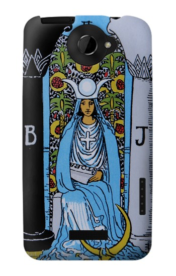 Printed High Priestess Tarot Card HTC One X Case