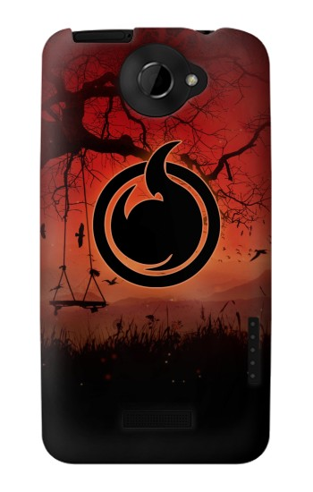 Printed Jigoku Shoujo Logo HTC One X Case