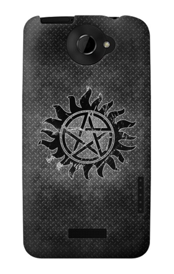 Printed Supernatural Antidemonpos Symbol HTC One X Case