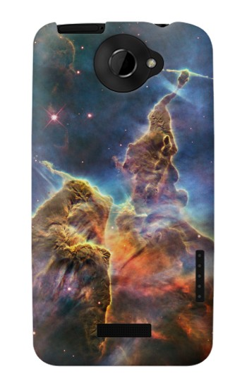 Printed Mystic Mountain Carina Nebula HTC One X Case