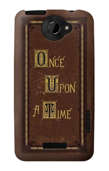 Printed Once Upon a Time Book Cover HTC One X Case