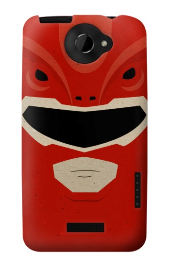 Printed Power Ranger Red Minimalist HTC One X Case