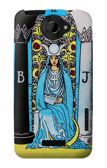 Printed The High Priestess Vintage Tarot Card HTC One X Case