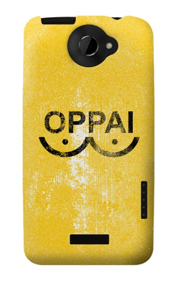 Printed Oppai One-Punch Man Symbol HTC One X Case