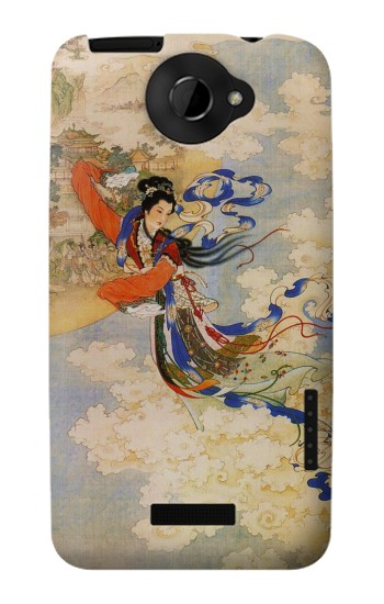 Printed Chang-E Moon Goddess HTC One X Case