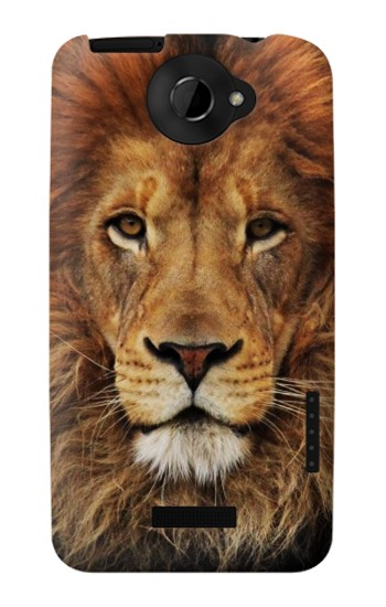 Printed Lion King of Beasts HTC One X Case