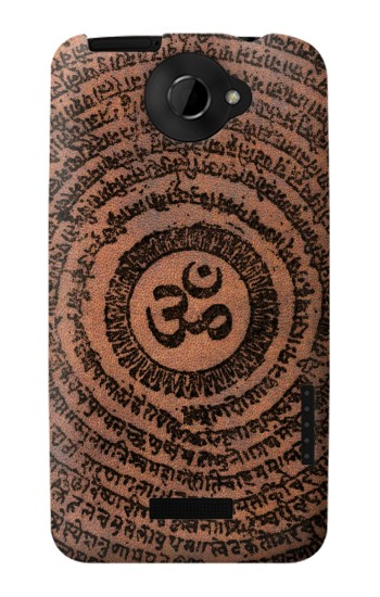 Printed Sak Yant Ohm Symbol Tattoo HTC One X Case
