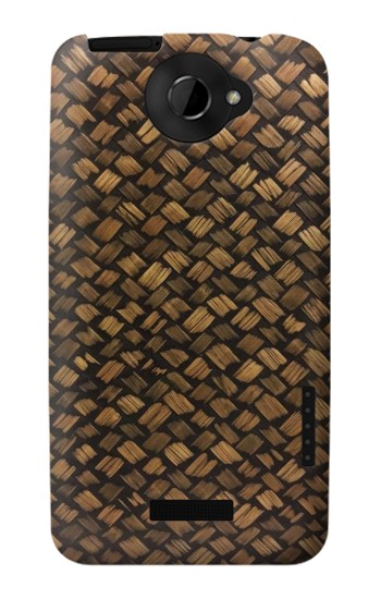 Printed Thai Bamboo Wickerwork HTC One X Case