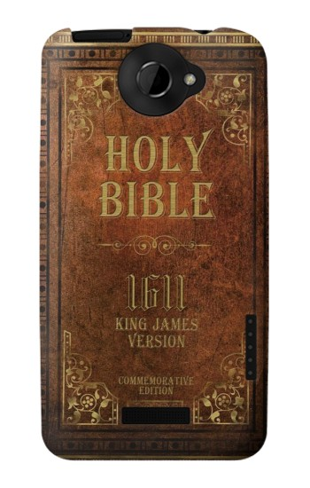 Printed Holy Bible 1611 King James Version HTC One X Case