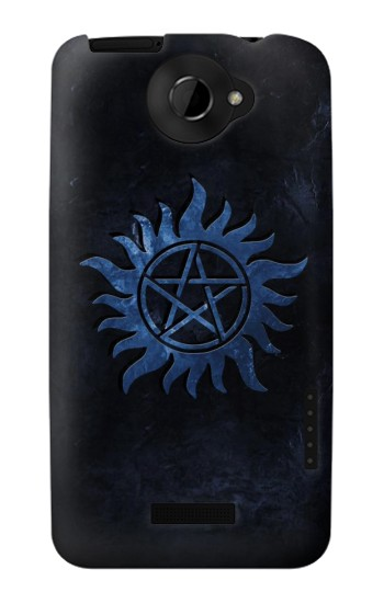 Printed Supernatural Anti Possession Symbol HTC One X Case
