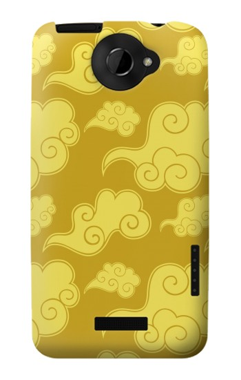 Printed Asian Clouds Pattern HTC One X Case