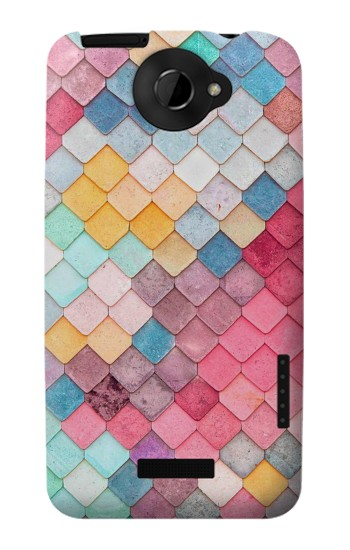 Printed Candy Minimal Pastel Colors HTC One X Case