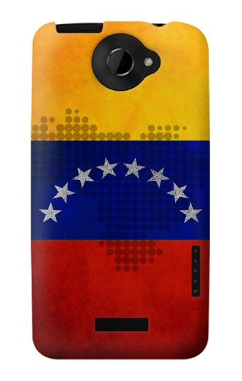 Printed Venezuela Map Flag HTC One X Case