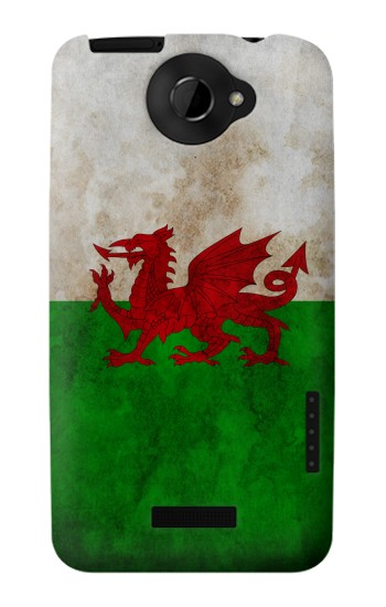 Printed Wales Red Dragon Flag HTC One X Case