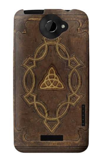 Printed Spell Book Cover HTC One X Case