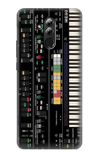 Printed Synthesizer Huawei Mate 20 lite Case