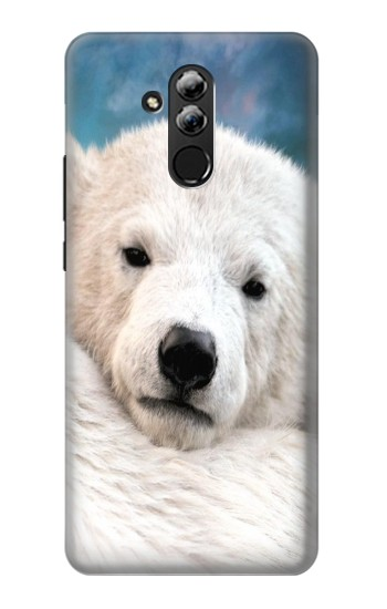 Printed Polar Bear Huawei Mate 20 lite Case