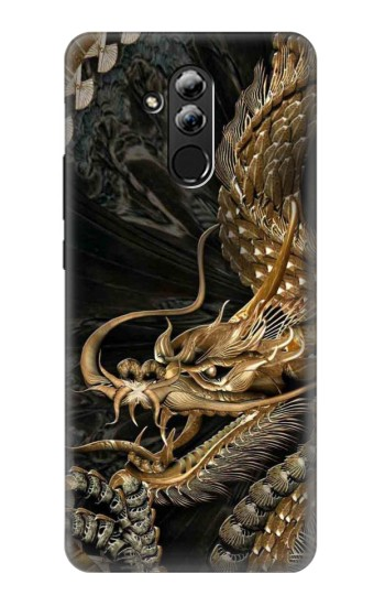 Printed Gold Dragon Huawei Mate 20 lite Case