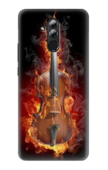 Printed Fire Violin Huawei Mate 20 lite Case