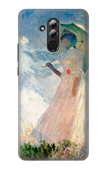 Printed Claude Monet Woman with a Parasol Huawei Mate 20 lite Case