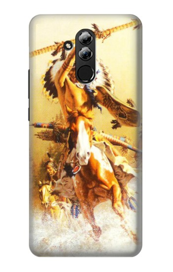 Printed Red Indian Warrior Huawei Mate 20 lite Case