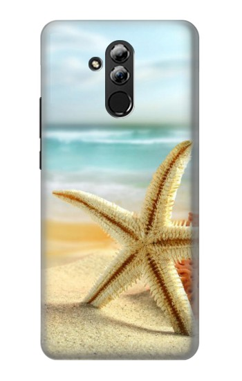 Printed Starfish on the Beach Huawei Mate 20 lite Case