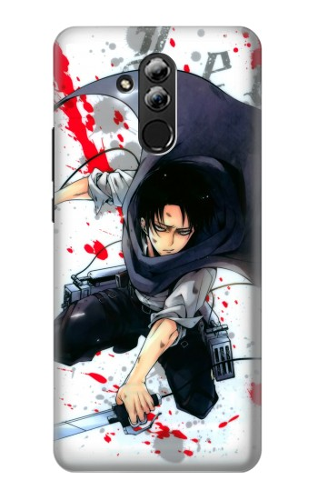 Printed Attack on Titan Rivaille Levi Huawei Mate 20 lite Case