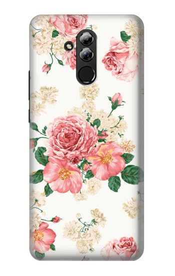 Printed Rose Pattern Huawei Mate 20 lite Case