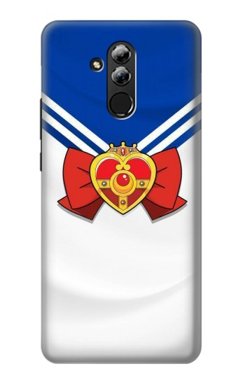 Printed Sailor Moon Brooch and Bow Huawei Mate 20 lite Case