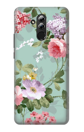 Printed Flower Floral Art Painting Huawei Mate 20 lite Case