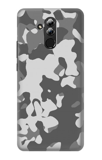 Printed Gray Camo Camouflage Graphic Printed Huawei Mate 20 lite Case