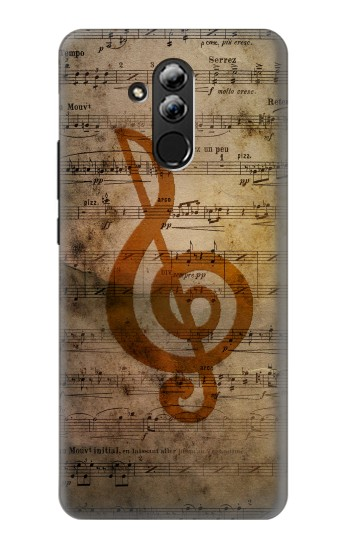 Printed Sheet Music Notes Huawei Mate 20 lite Case